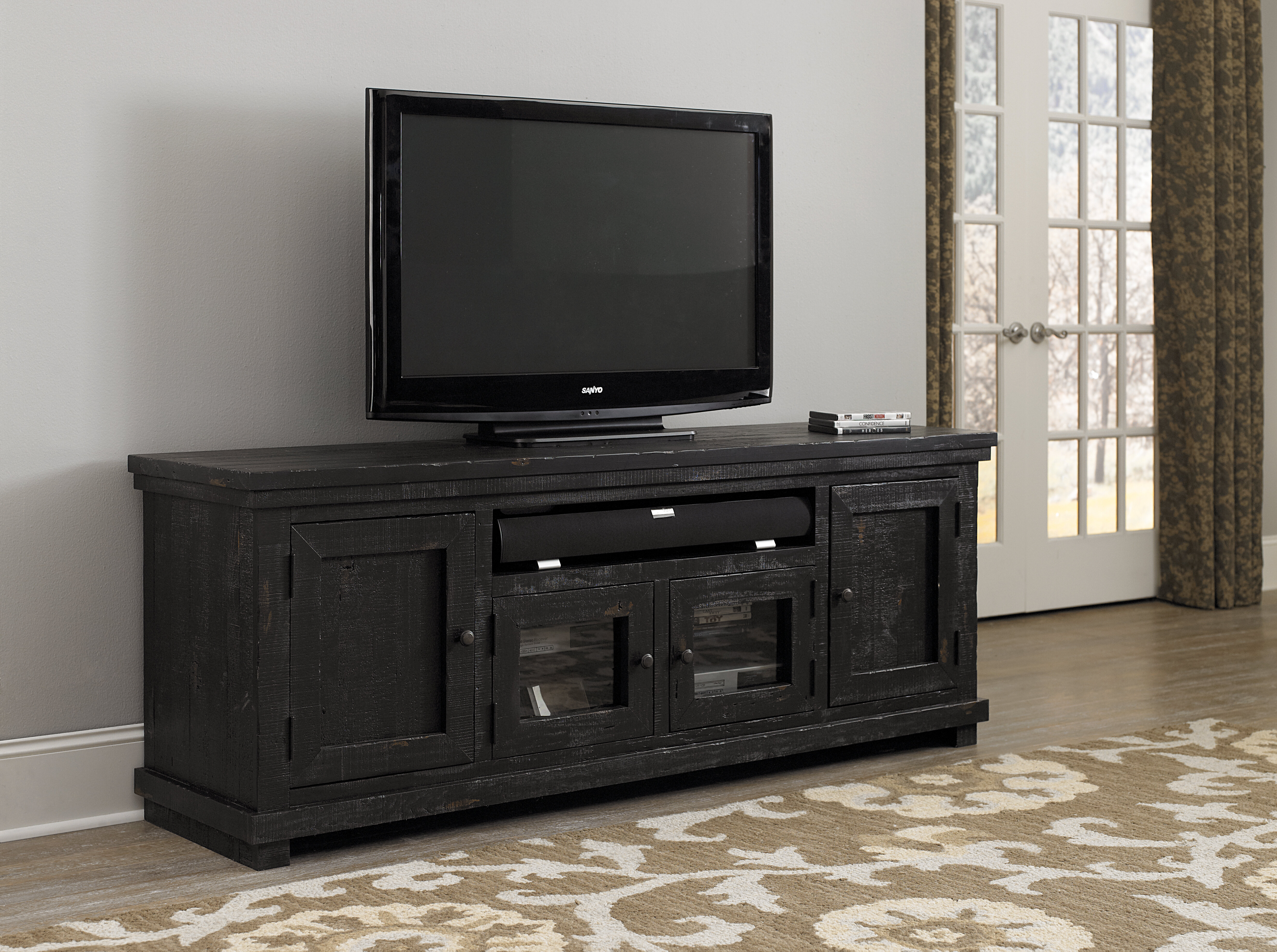 Barbeau Tv Stand For Tvs Up To 85 Reviews Birch Lane