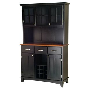 Ferris Traditional China Cabinet by Three Posts