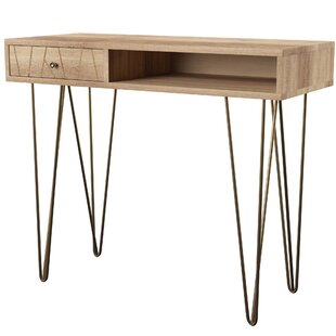 Banas Solid Wood Writing Desk by Mercury Row New