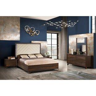Bicknell Series Sleigh 5 Piece Bedroom Set by Corrigan Studio