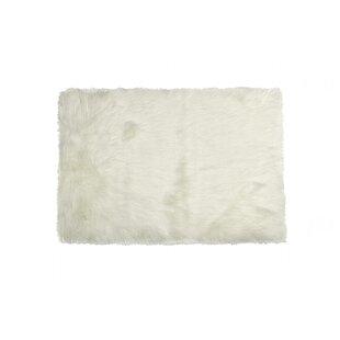 Read Reviews Escobedo Sheepskin White Area Rug By Mercer41