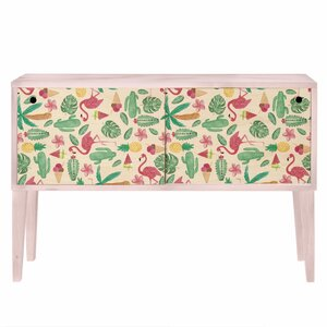Sideboard Flamingo Tropical von Wildon Home