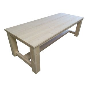 Ansley Wooden Dining Table By Union Rustic