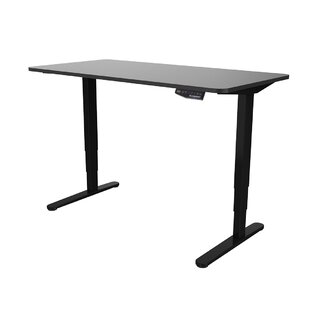 Symple Stuff Electric Height Adjustable Home Office Standing Desk