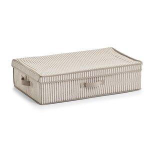 Stripes Fabric Underbed Storage By Zeller