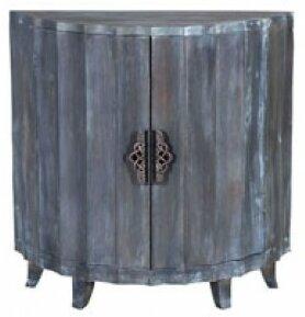 Arcene Demilune 2 Door Accent Cabinet by Bloomsbury Market