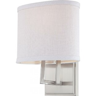 Bouley 1-Light Bath Sconce by Ivy Bronx