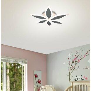 Orren Ellis Northview 6-Light LED Semi Flush Mount
