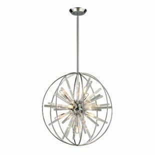 Orren Ellis Raynerson 10-Light Pendant