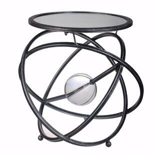 Villanova Riveting Spheres End Table by Orren Ellis