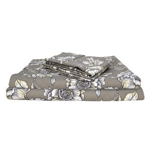 Channell Vintage Exclusive Designer 400 Thread Count Coastal 100% Cotton Sheet Set (Set of 4)