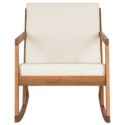 Prime Greyleigh Camdenton Rocking Chair With Cushions Fabric Teak Gmtry Best Dining Table And Chair Ideas Images Gmtryco