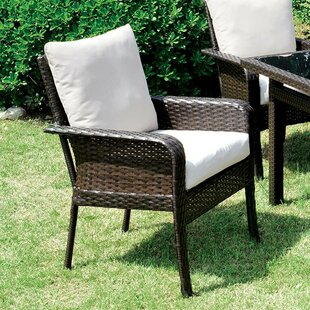 Mcleod Patio Dining Chair with Cushion