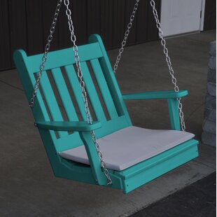 August Grove Lemming Traditional English Porch Swing