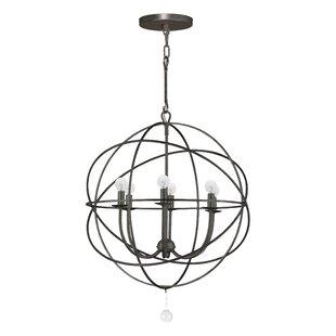 Gregoire 6-Light Globe Cha..