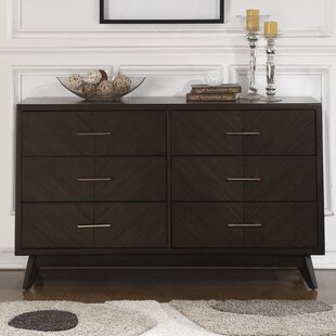 Check Prices Metropole 6 Drawer Double Dresser by Craft + Main