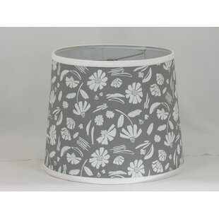 Floral Cotton Drum Lamp Shade