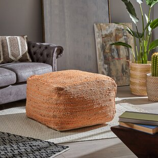 Bello Boho Pouf Ottoman by Bungalow Rose