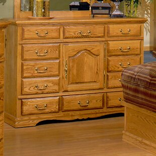 Reviews Lucie 12 Drawer Combo Dresser by August Grove