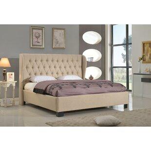 Best Price Jamie Upholstered Platform Bed by Rosdorf Park Reviews (2019) & Buyer's Guide