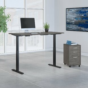 Move 60 Series 2 Piece Desk Office Suite by Bush Business Furniture Today Only Sale