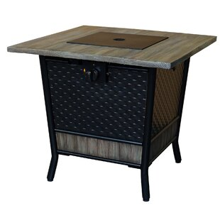 Ashworth Steel Propane Fire Pit Table
