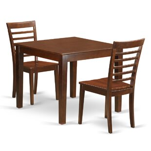 Cobleskill 3 Piece Dining Set by Alcott Hill Today Only Sale
