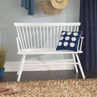Beachcrest Home Annie Rubber Wood Bench