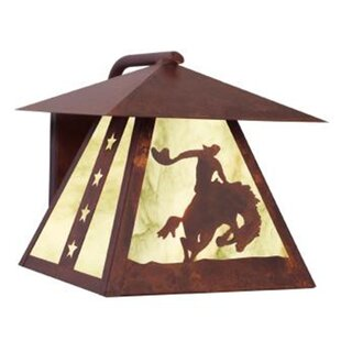8 Seconds 1-Light Outdoor Wall Lantern by..