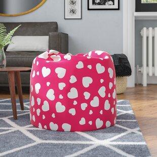 Heart Bean Bag Chair By Freeport Park