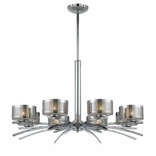 Orren Ellis Draconis 8-Light Shaded Chandelier