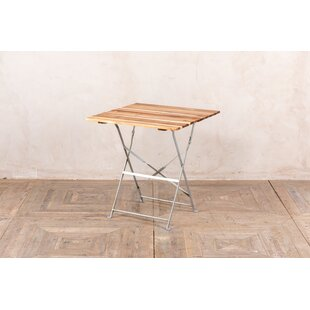 Rhona Folding Metal Dining Table By Sol 72 Outdoor