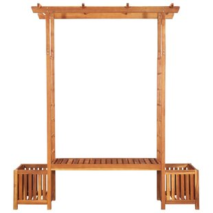 Best Price Audrina 1.98m X 1.8m X 0.5m Wood Pergola