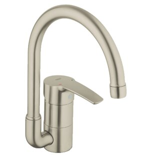 Grohe Eurostyle Single Handle Kitchen Faucet with SilkMove®