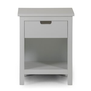 Nesto 1 Drawer Nightstand by P'kolino