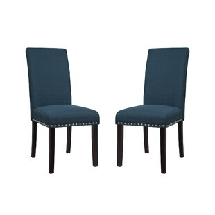 Redfield Upholstered Dining Chair (Set of 2) byThree Posts