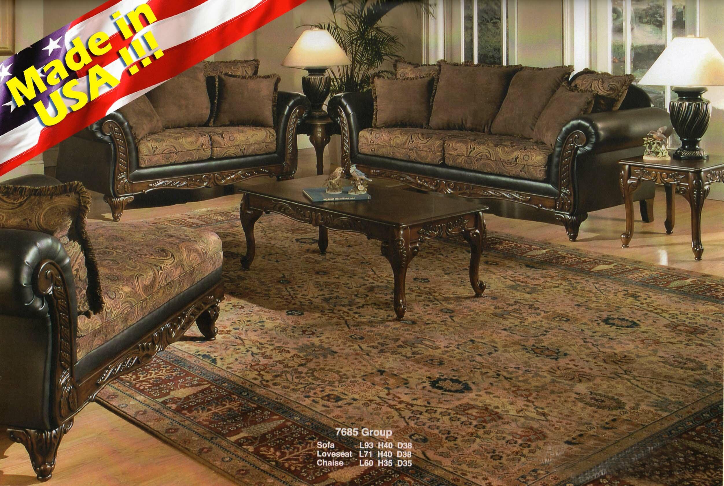 Astoria Grand Oswego 2 Piece Living Room Set & Reviews   Wayfair