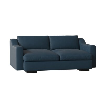 Awesome Uncle Sal Loveseat Benchmade Modern Leg Color Espresso Body Lamtechconsult Wood Chair Design Ideas Lamtechconsultcom