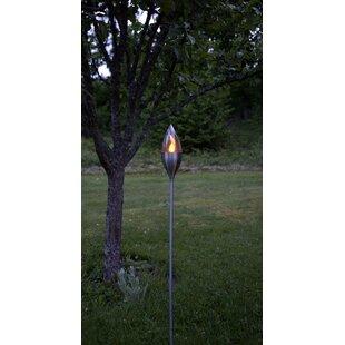Defazio Solar Powered Garden Torch By Mercury Row