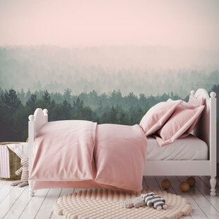 The Misty Forest Murals That Stick 6 X 54 Wall Mural