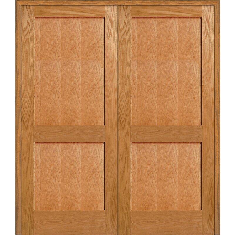 Verona Home Design 3 Flat Panel Solid Manufactured Wood Paneled Mdf
