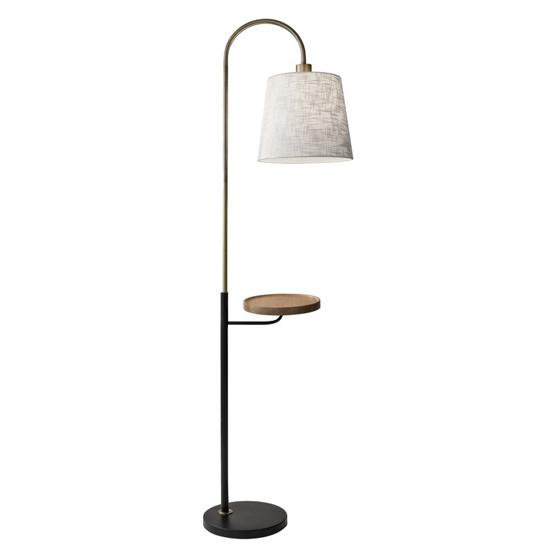 Donavan 65 Tray Table Floor Lamp