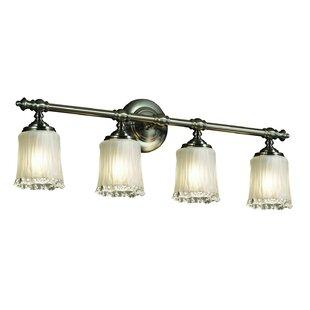 Darby Home Co Devita Tradition 4-Light Vanity Light