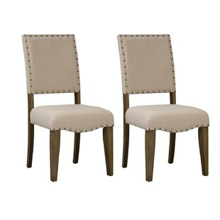 Crisp Upholstered Dining Chair (Set of 2)