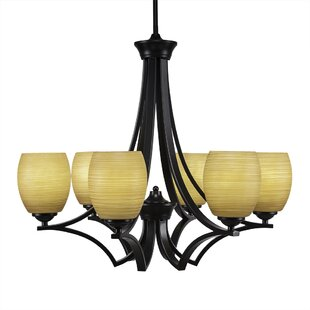 Red Barrel Studio Couto 6-Light Shaded Chandelier