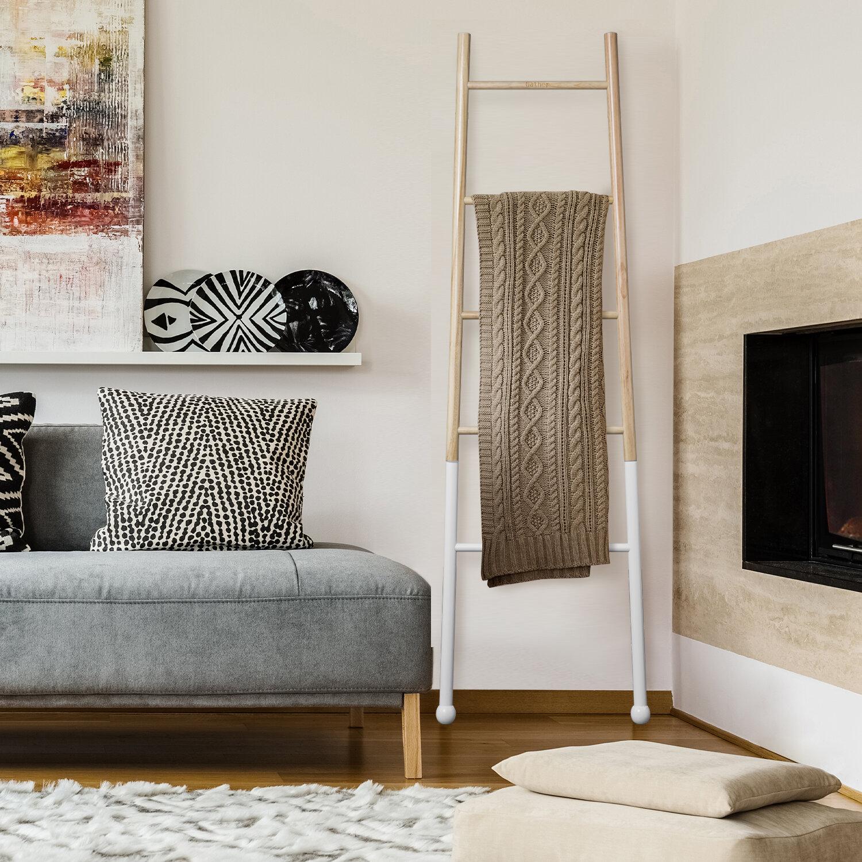 Modesign Decorative 5 5 Blanket Ladder Reviews Wayfair