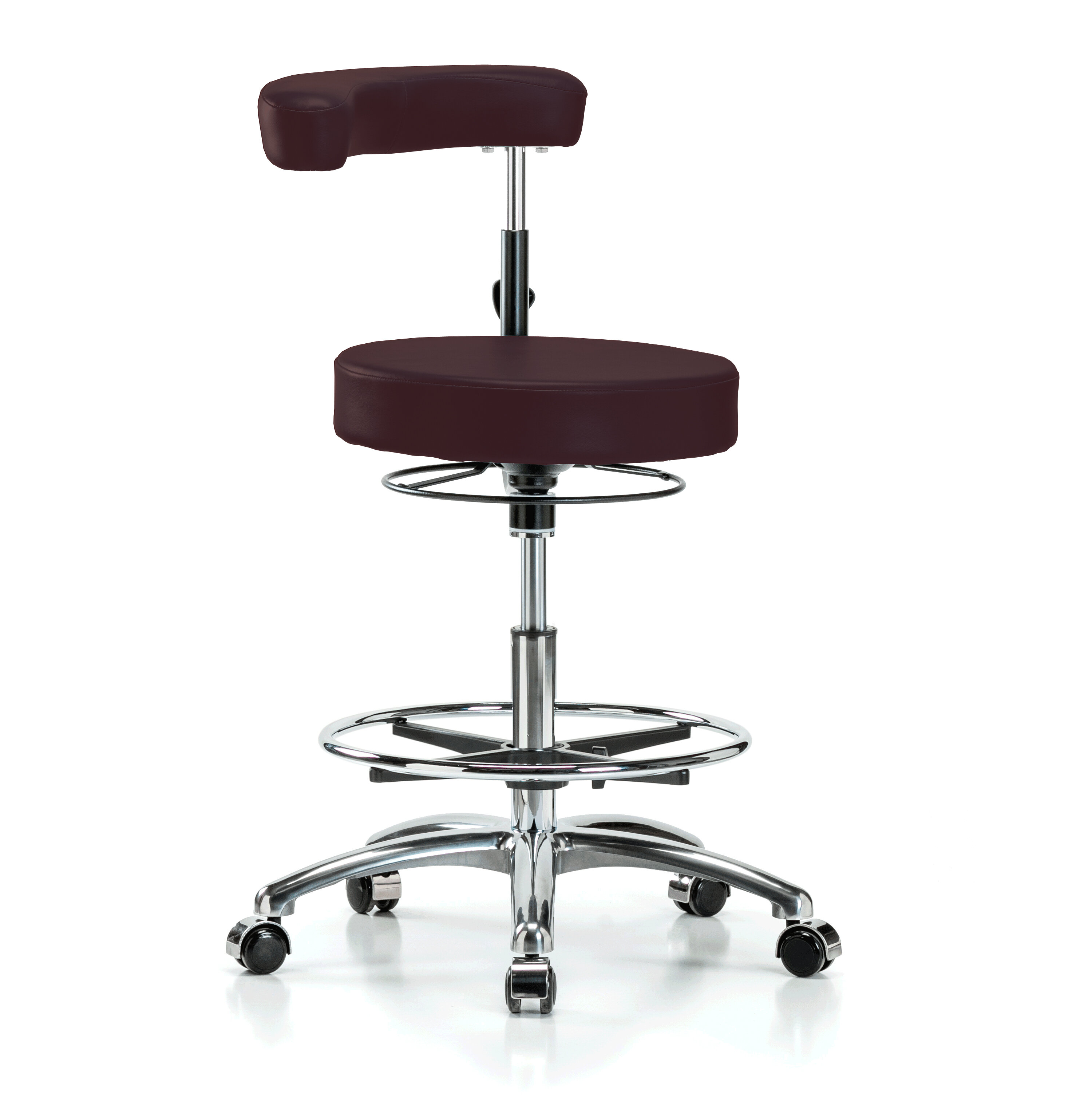 Sensational Height Adjustable Dental Stool With Procedure Arm And Foot Ring Evergreenethics Interior Chair Design Evergreenethicsorg