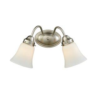 Charlton Home Kendal 2-Light Vanity Light