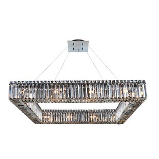 Riesel 16-Light Crystal Chandelier by Eve..