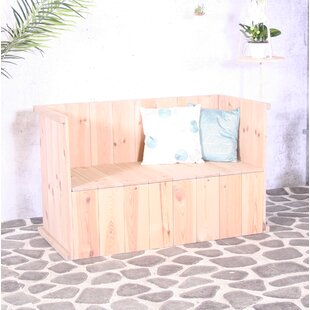 Mahowny Wooden Bench By Sol 72 Outdoor